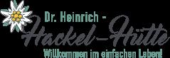 Dr. Heinrich Hackelhütte