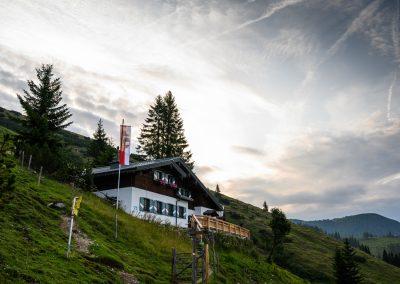 Hacklhütte, Werfenweng, Tennengebirge, © Lorenz Masser